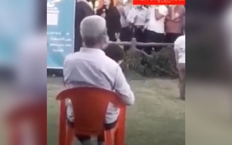 Courageous Woman Rips Iran Regime to Shreds at Tehran Townhall Prior to Election